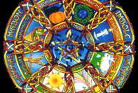 La Ruota Pagana il Calendario Celtico 1