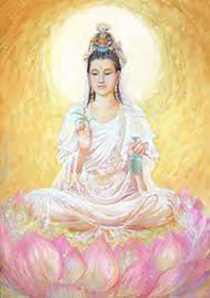 Quan Yin 1NEW - Lotus Frequency Matrix