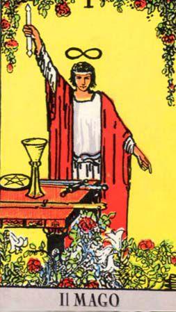 il mago bagatto tarocchi - The Magician Empowerment