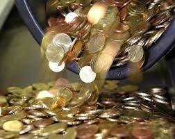 pioggia di monete - Gold and Silver Abundance Reiki